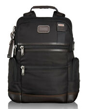 NEW TUMI MENS ALPHA BRAVO HICKORY BLACK KNOX BACKPACK SOLD OUT