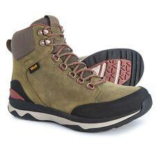 37f2b0a823013 Teva Men s Arrowood Utility Tall WP Hiking Boot 10 M Dark Olive Leather