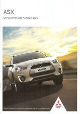 Prospekt / Brochure Mitsubishi ASX 07/2015 mit Preisliste
