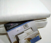 Cuddl Duds Heavyweight Cotton Creamy Ivory Off White Flannel Queen Sheet Set New