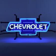 """Chevrolet Bowtie Junior Light Car Garage Banner Neon Sign 17"""" by 7"""""""