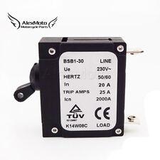 230V 20 AMP 20A Generator Circuit Breaker 25 Trip Amps