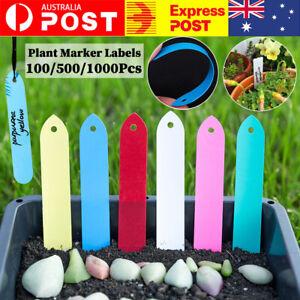 100/500/1000Pcs Plant Marker Labels Flexible PVC Tag Seedlings Waterproof Garden