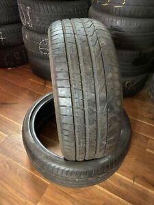 2x Runflat Sommerreifen 245/35R21 96Y Pirelli P Zero DOT 3411 6mm