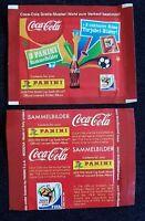 Panini WM 2010 1 Tüte Cola Klose Salto World Cup 10 / Bustina Pochette Packet
