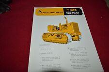 Allis Chalmers HD-21 Dealers Brochure YABE11 VER95