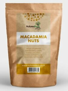 Organic Macadamia Nuts - Freshest | Natural | Whole | Premium Quality | Unsalted