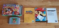 Banjo-Tooie Nintendo 64 N64 Video Game Complete CIB Manual Box Lot AUTHENTIC !!!