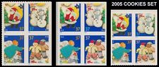 Holiday 2005 Cookies Complete Set 3 Blocks 3949-52 3953-56 3957-60 MNH - Buy Now