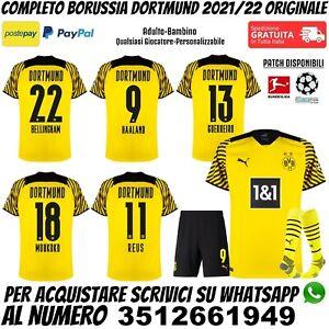 Maglie da calcio di squadre tedesche gialli Borussia Dortmund ...
