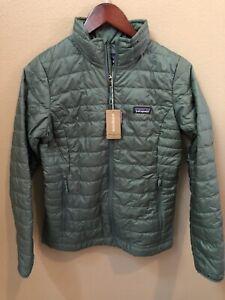 NWT Patagonia Women's Nano Puff Jacket Small Regen Green $199 84217