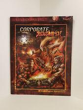 Shadowrun: Corporate Punishment, RPG, Fasa, Softcover