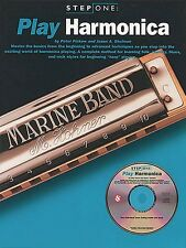 Step One: Play Harmonica Book and Cd New 014031461