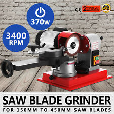370W Saw Blade Grinder Sharpener Machine Grinding Level Rotation Copper Core