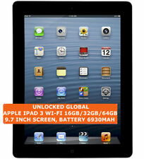 APPLE IPAD 3 WI-FI 16gb/32gb/64gb Dual-Core 5.0mp Camera 9.7 Inch Ios Tablet Pc