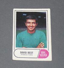 A & BC GUM CARD FOOTBALL ENGLAND 1969 DAVID BEST IPSWICH TOWN TRACTOR BOYS