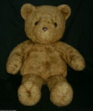 "20"" VINTAGE 1993 PIERRE CARDIN TEDDY BEAR FELECO BROWN STUFFED ANIMAL PLUSH TOY"