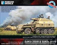 SDKFZ 250/8 & 251/9 EXPANSION  - RUBICON MODELS - 1/56 - 28mm - WW2 RU035