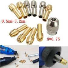 10pcs Collet Nut Kit Quick Change Tools Part Power Rotary for Dremel Accessories