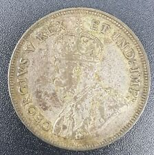 East Africa 1 Shilling Coin 1924, .250 Silver
