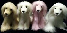 4 New Purely Luxe Afghan Hounds Aurora World Plush New With Tags