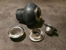 4 Metal Washers Steel inox for Thorens TD 124 mushrooms made in Italy