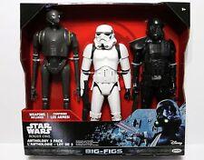 "Star Wars Rogue One K-2so Stormtrooper Death Trooper 18"" Figure Anthology 3 Pack"