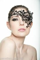 Phantom of the Opera Venetian Metal Filigree Laser Cut Masquerade Mask L2007BK