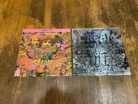 Cream 2 LP Lot - Disraeli Gears & Wheels of Fire - Atco Records