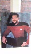 Official STAR TREK TNG gloss photo picture WILLIAM T RIKER