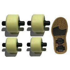 Heelys replacement wheels X2 heelys 2x2 Small Medium spare wheels dualup heelys