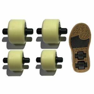 Heelys replacement wheels X2 heelys 2x2 Small Medium spare wheels dual up heelys