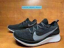 Nike Zoom Fly Flyknit Women's Size 5.5 Black Gunsmoke Running Shoes AR4562-081