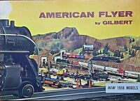 American Flyer No. D2047 Original 1958 Catalog Mint With Color Registry Mistakes