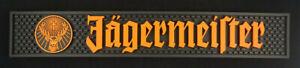 Jägermeister Barmatte Bar Teppich Towl Gummi Gastro Schwarz Orange NEU OVP