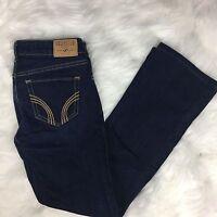 Hollister Juniors Skinny Jeans 1S Short Dark Wash 25 x 27