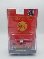 M2 Machines 1976 Chevy Silverado Scottsdale Custom Fire Chief Truck HS06. 1/64