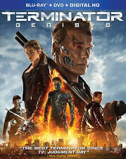 Terminator Genisys (Blu-ray/DVD, 2015, 2-Disc Set, Includes Digital Copy)