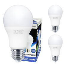 3 Pack 10W GLS LED Light Bulb E27 Edison Screw A60 10w = 100w Warm White