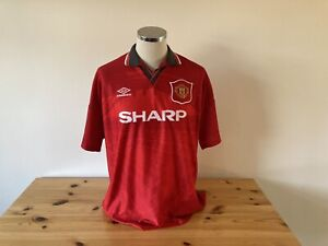 Manchester United Home Shirt 1994/1995/1996 Vintage Football Retro