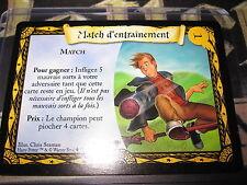HARRY POTTER COUPE DE QUIDDITCH TCG MATCH D'ENTRAINEMENT 65/80 COM FRANCAIS MINT