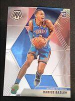 Darius Bazley 2019-20 NBA Panini Mosaic Rookie Card RC Base