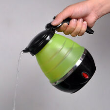 Mini Travel Silicone Foldable Electric Water Kettle Collapsible Pot Camping New