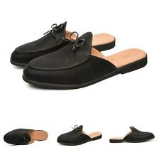 Men Oxfords Slip on Party 38-44 Slingbacks Loafers Faux Leather Slippers Shoes L