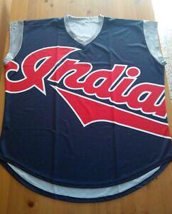 1999 CLEVELAND INDIANS JERSEY TATC MEN BASEBALL JERSEY XL X-LRG MLB DS RARE NEW