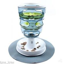 Cat Food Bowl FOOD MAZE Pet Kitten Indoor Play Toy Interactive Play Digestion