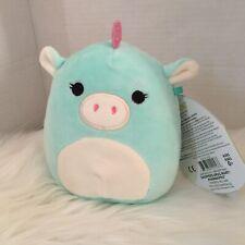 Kellytoy Squishmallow 5 Inch Jessica Turqouisr Unicorn Super Soft Plush Toy Pet