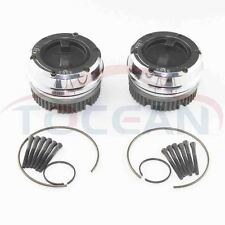 BRAND NEW 19 SPLINE MANUAL LOCKING HUBS for DANA 44  4X4 FORD JEEP DODGE CHEVY