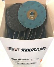 Standard Abrasives 3 Quick Change Discs Tsm Roloc Sanding Disc 36 Grit 50 Pack