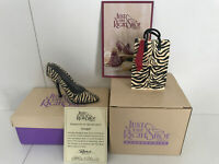 Just The Right Shoe by Raine - Serengeti box + Serengeti Shoe Zebra Print
